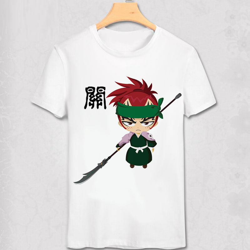 The Romance Of Three Kingdoms T Shirt China History Manga Guan Yu Cute Style Unisex T-shirt 3 Team Brother Tee Shirt Ideal Gift For All Occasions T-shirts Tops & Tees