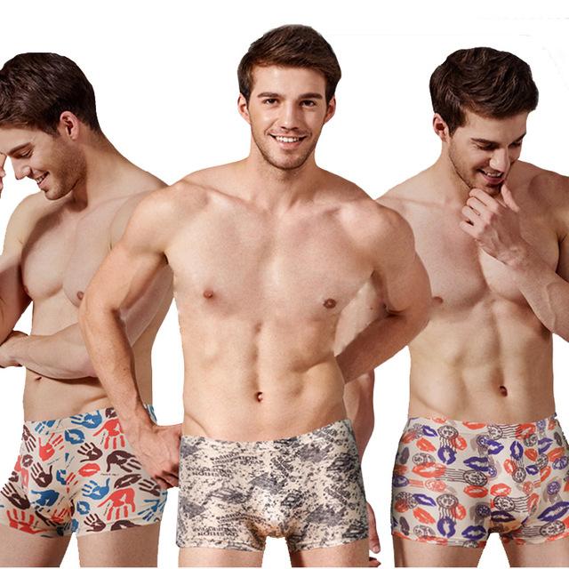 4 pcs Large loose male cotton Underwears Boxers high waist panties breathable fat belts Big yards men's underwear plus size