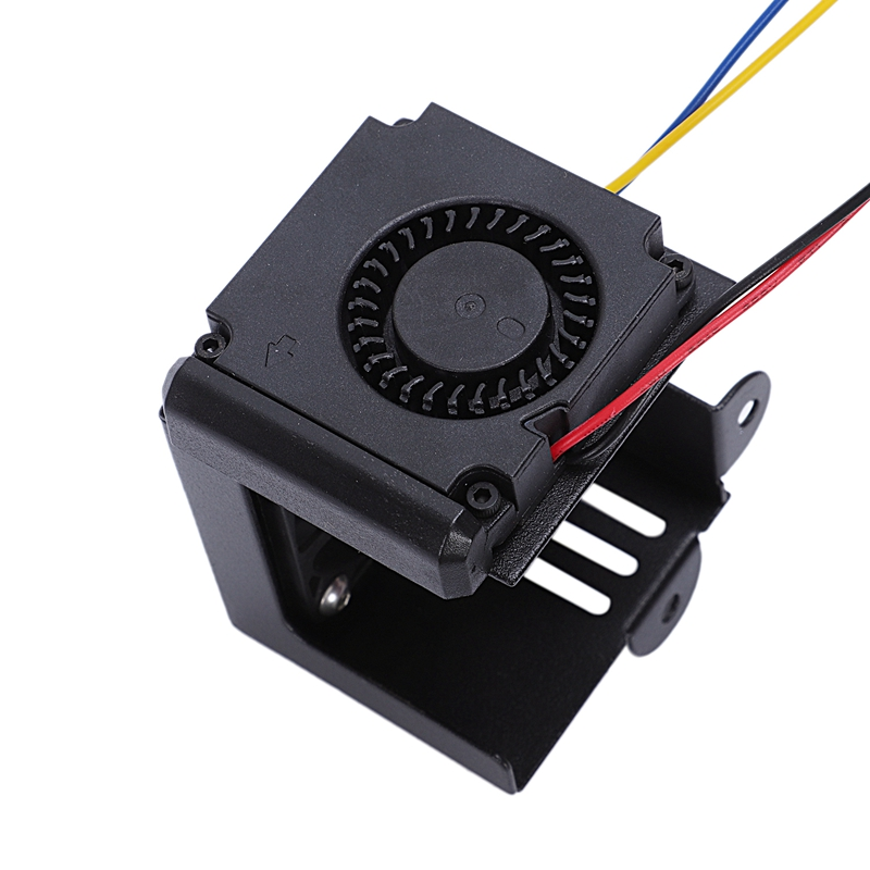 Image 3 - 3D Printer Accessories Cr10 Hot End Kit Mk8 Extruder Hot End Kit 1.75/0.4Mm Nozzle 12V 40W Heating Pipe 4010 Cooler Fan For Cr-in 3D Printer Parts & Accessories from Computer & Office