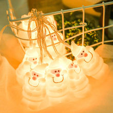 2/3M LED Star String Lights LED Fairy Lights Christmas Wedding decoration Lights Battery Operate twinkle lights(China)
