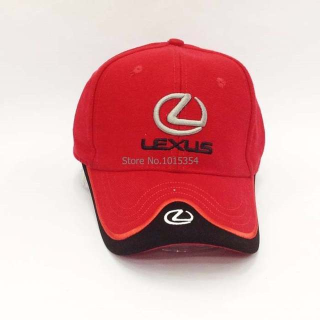 f4deb068a US $12.09 19% OFF 4 Colours Black Blue Red White Headgear For LEXUS  Baseball Cap Car cap Wholesale Profession Leisure Hat Logo Hat -in Baseball  Caps ...