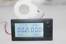 Voltmètre numérique 300V DC, testeur de capacité de batterie de voiture, coulomètre, compteur de puissance, watt-heure avec capteur à effet Hall