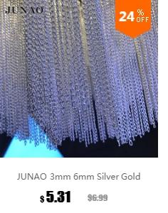 JUNAO 6 мм золотой цвет лазерный круглый Блестки с плоской задней частью пайетки для шитья для поделок аксессуары для одежды 500 г