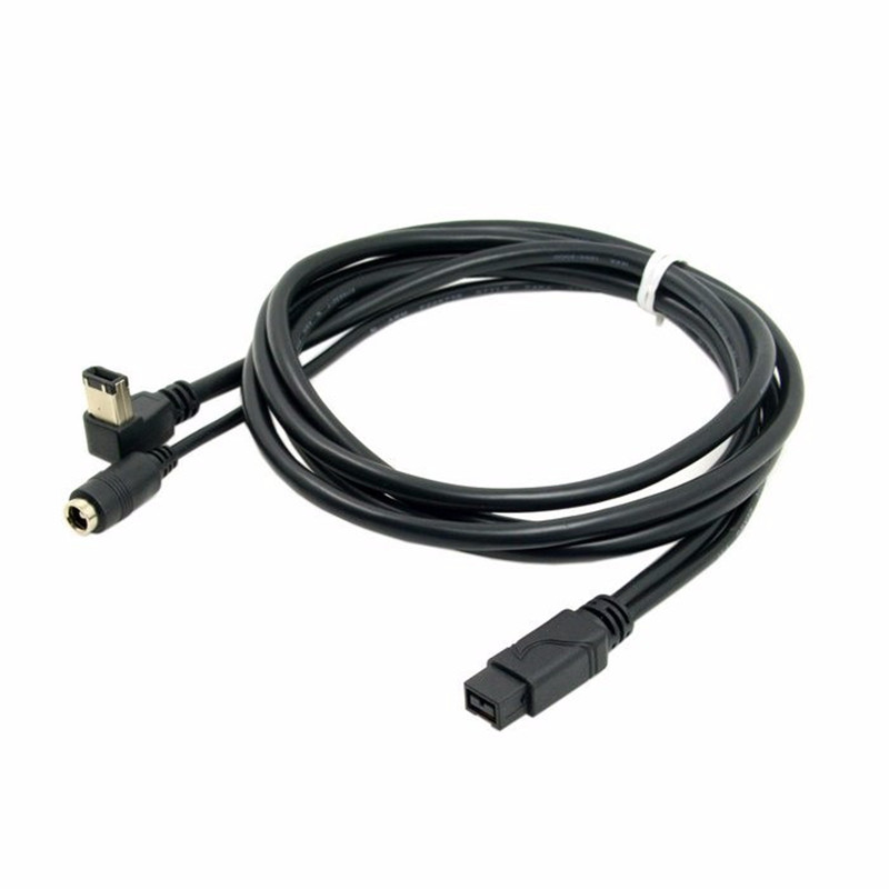 все цены на IEEE 1394b 9Pin Male with DC 12v Power Jack to 1394a 6pin Male Firewire Cable 1.8m/180cm онлайн