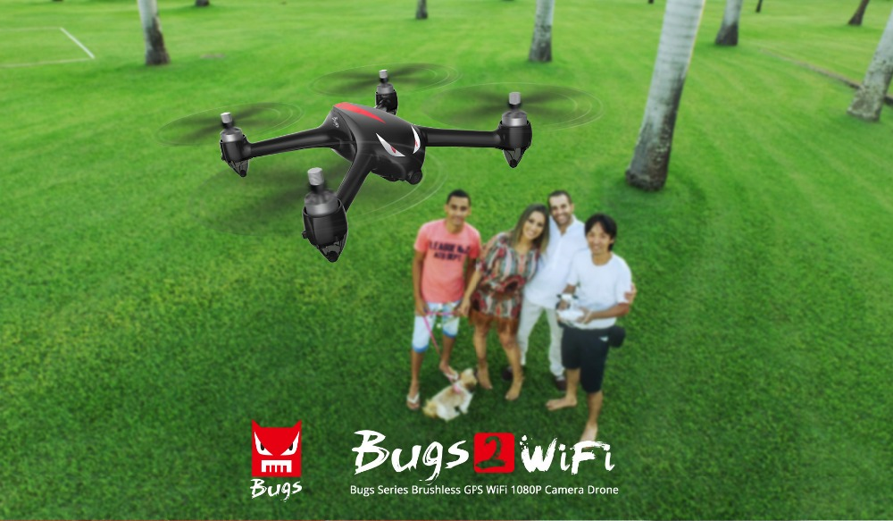 RC Helicopter Brushless Motor with GPS drones with camera hd 2.4G 4CH 6Axis fpv Quadcopter WIFI 1080P Camera B2W Bugs 2W monster
