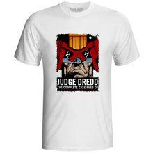 Judge Dredd T-shirt Novelty Pop Anime Movie Superhero T Shirt Cool Fashion Skate Casual Rock Short Sleeve Women Men Top Tee цена
