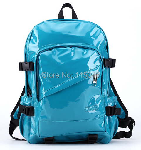 Free Ship Neon Color 2014 Summer Solid Color Cute Leather School