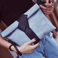2017 Women Day Clutches Bags Bow Leather Crossbody Bag Messenger Bags Ladies Envelope Evening Party Bag Ladies Designer Handbags