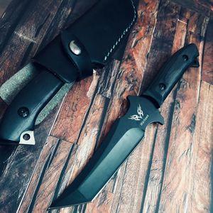 Image 4 - Quân sự Tanto Chiến Thuật Dao Cố Định Blade Full Tang cho Cắm Trại Ngoài Trời Survival HUNTING RESCUE DAO Tự Vệ Bowie Dao