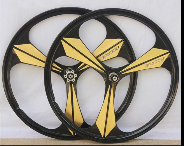 Bicycle Wheel Recommended Value Mibing Magnesium Alloy 26 inch mountain bike wheel set MTB