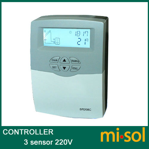 220V controller of solar water heater, for separated pressurized solar hot water bride of the water god v 3