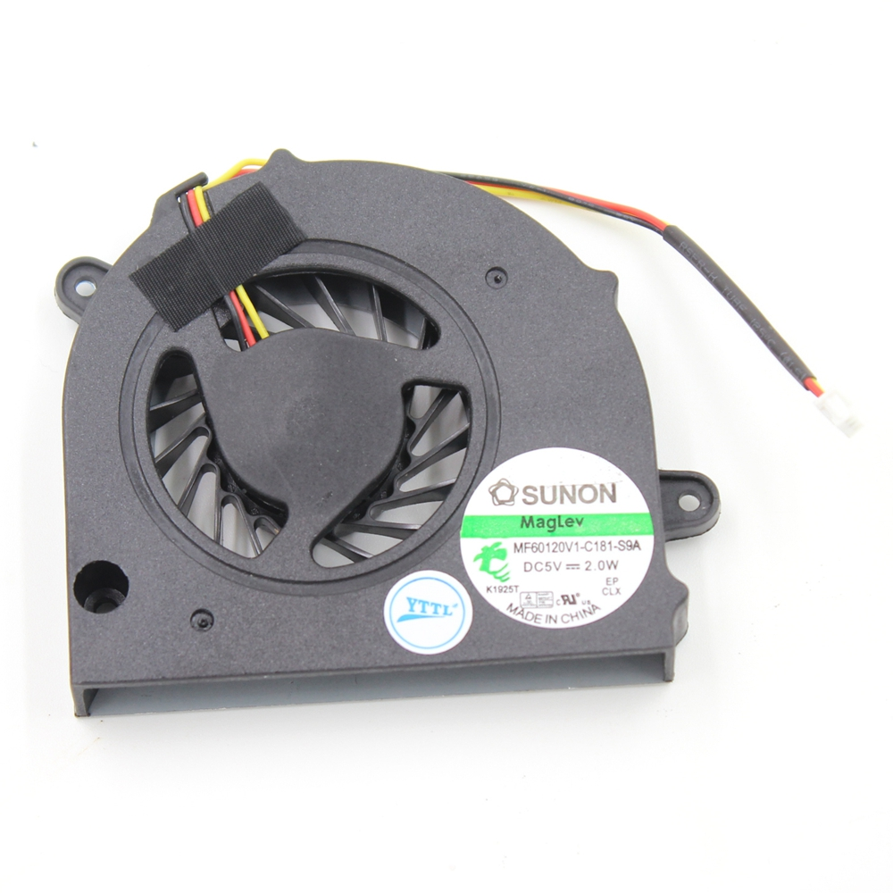 CPU Cooling Fan MF60090V1-C000-G99 Replacement For Lenovo G450 G550 G455 G555 G555A TOSHIBA Satellite L500 L505 L555 Cooler Fans