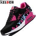 Keloch 2016 Mujeres de La Venta Zapatos de Deporte Transpirable Zapatos Para Caminar Al Aire Libre Ocasional de Las Mujeres Feminino Esportivo
