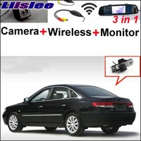 Liislee 3 in1 Special Rear View Camera Wireless Receiver + Mirror Monitor Easy Parking System For Hyundai ix35 Tucson 2009~2016