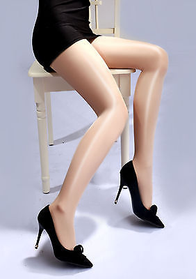 Black Friday Deals 2018 Hot arrival Women High Waist Tights Sexy Oil Shine Glossy Open Crotch Pantyhose Tights 4