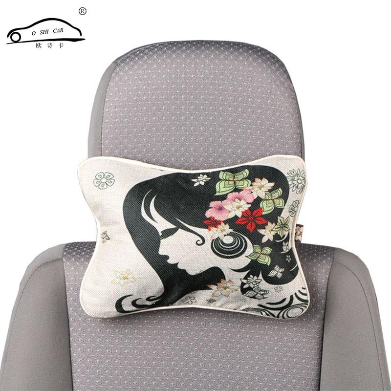 2 copë Shtypje dixhitale jastëk makine në stilin kinez / Liri - Aksesorë të brendshëm të makinave - Foto 2