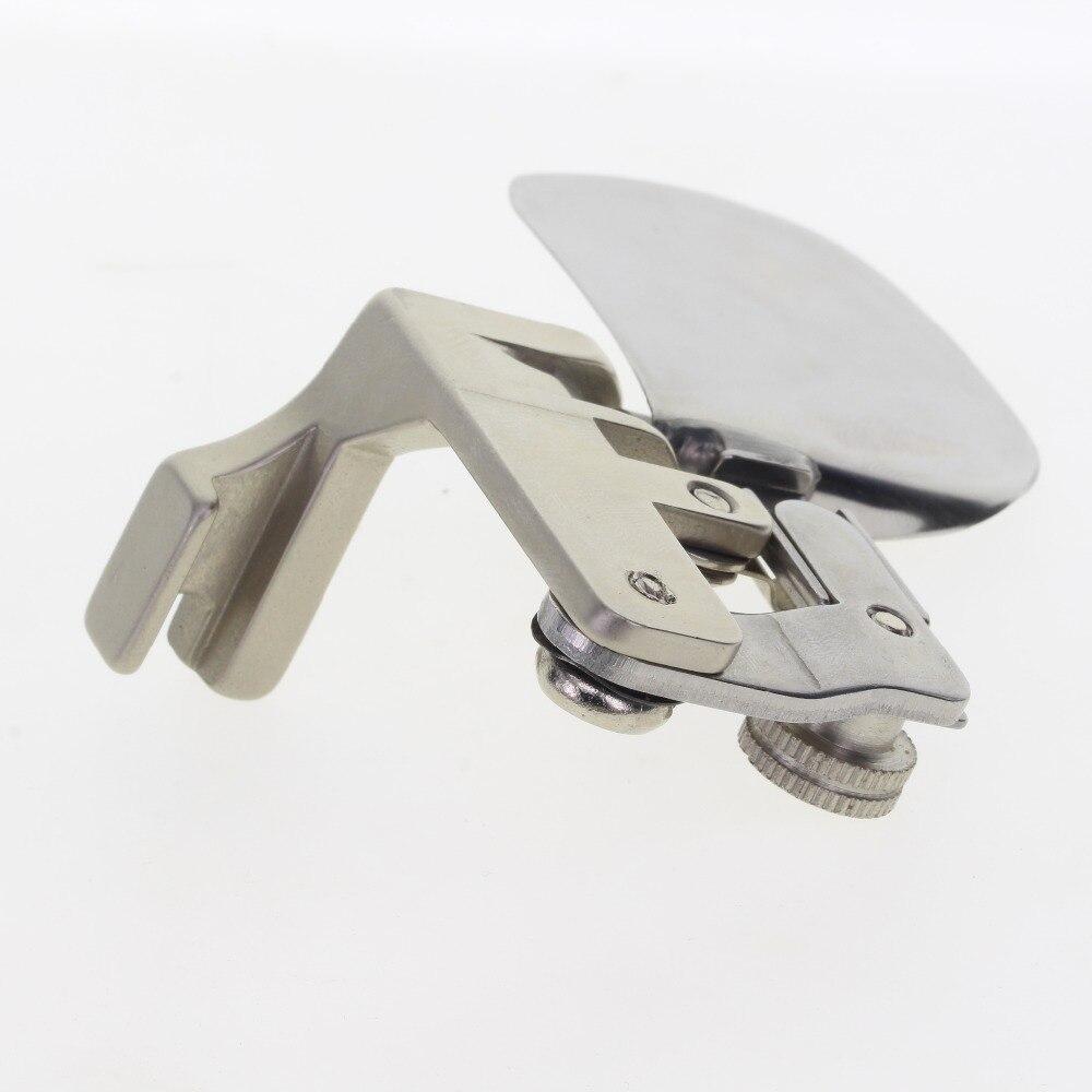 F502 швейная подрубочная лапка zigzag папка крутой отложной воротник стальная папка ARC Круглый угол быстрее Сделано в Тайване