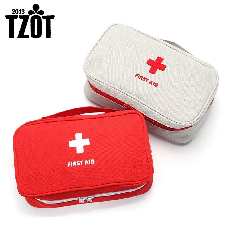 Přenosná taška první pomoci Outdoorové sporty Camping Domácí lékařské nouzové přežití Lékárnička Rescue Medical Tools Organizer -FZ