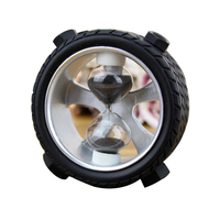 Personalized Tire 5 Minutes Sand Hourglasses Timer Clock Decoration Sandglass Ornament Table Clock Exquisite Home Decor