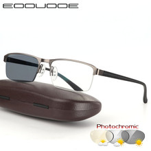 Transition Sunglasses Photochromic Reading Glasses for Men Hyperopia Presbyopia with diopters Outdoor