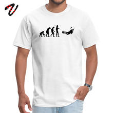 Ronde Hals Evolution om Scuba Diver 100% Noorwegen Volwassen T-shirt Familie Korte Pulp Fiction Tops Tees Brand New Print(China)