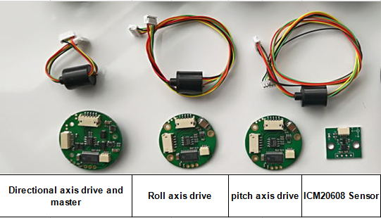 SimpleBGC encoder-enabled modular system for low-end consumer camera  stabilizer