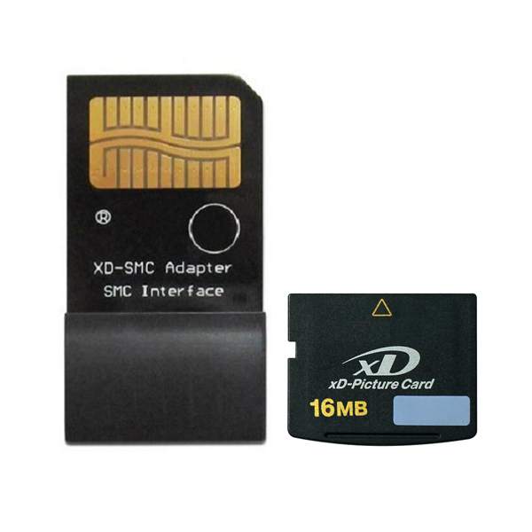 16MB xD-Picture card with XD-SM Smart Media card adapter 16MB XD Card with Adapter