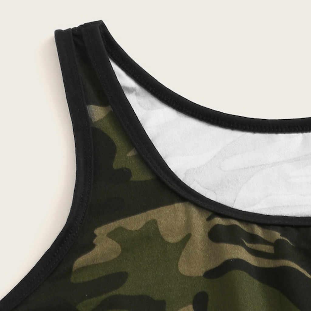 Сексуальные бикини 2019 пуш-ап купальники 2 шт модные женские большие размеры Камуфляжный топ с принтом + шорты с завязками на талии комплект