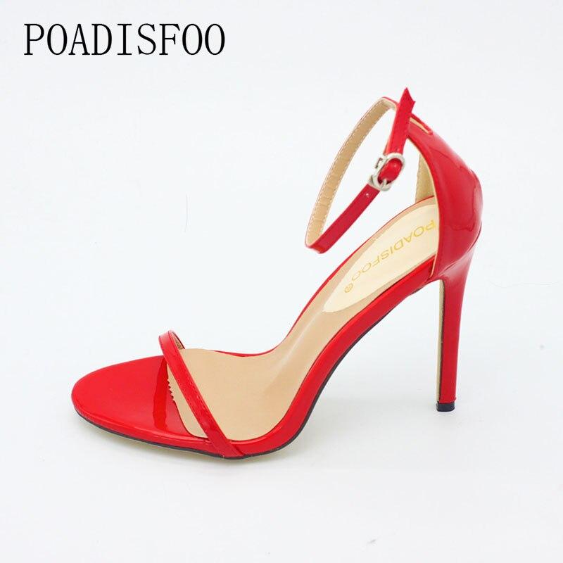 HTB1JCYHmhPI8KJjSspfq6ACFXXa3 2020 New WOMEN Cover Heel Summer Super high heel Sandals Rough Fish Head open-toed Sandals sexy Large size women shoes .ZL-726-3