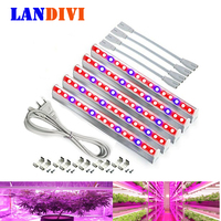 LED Grow Lights Plants Growing Lamp Red 660nm Blue 460nm 5730smd Growth Light T5 Tube Power