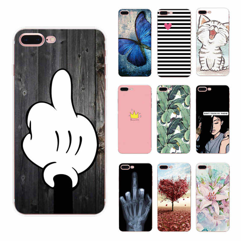 Floral Cases For iPhone XS Max XR 7 8 6 6S Plus X 5 5S SE Cool Cats Pattern Capa For iPhone Xr 7 8 6 6s Plus Cover Coque