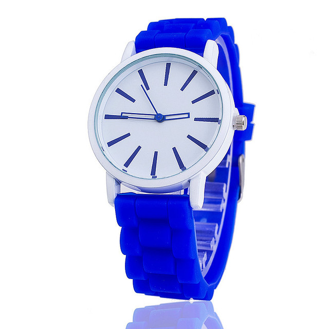 1b364ce79d1d Reloj Mujer 2018 New Fashion Sports Brand Quartz Watch Men ad Casual  Silicone Band Women Watches