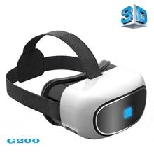 G200สมาร์ทWIFI VRกล่องบลูทูธVRแว่นตา3D Quad Core Android 5.1 1080จุดFHD VRแว่นตาชุดหูฟังโทรศัพท์ส่วนตัวCinema TFบัตร