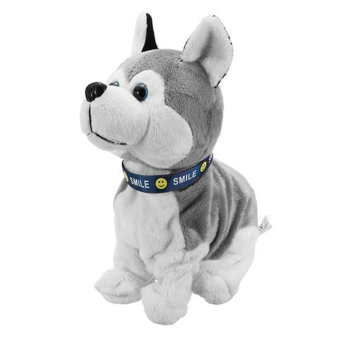 Bark Stand Walk Sound Control Electronic Robot Dog Kids Plush Toy Sound Control Interactive Electronic Toys Dog For Baby gifts Karachi