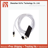 HDMI Adapter/ HDTV Cable, DMG HDMI AV TV HDTV MHL Adapter Cable For iPad/iPhone 5S 6 6P 6S With USB Charger Cable (Multicolor)