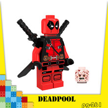 Thanos Gloves Deadpool Building Blocks Avengers 3 New Infinite War Iron Man Venom Block Digital Childrens Toy Gift