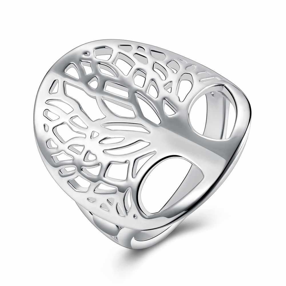 Nhẫn Bạc, Nhẫn Nữ Thời Trang cho Nữ, Nhẫn Nữ, sóc Cây Nam Nhẫn Nam, Nhẫn cưới Femma, đảng Phụ Kiện Trang Sức, kim loại BIJOUX