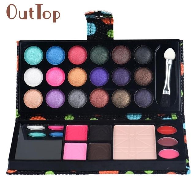 Levert Dropship 26 Couleurs Ombre À Paupières Palette de Maquillage Cosmétiques Fard À Paupières Blush Lip Gloss Poudre 0325B