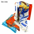 2017 Brand Silk Chiffon Scarf Women Fashion Scarf Ladies Bandana Scarves Echarpe Femme Beach Kerchief Summer Style White Unicorn