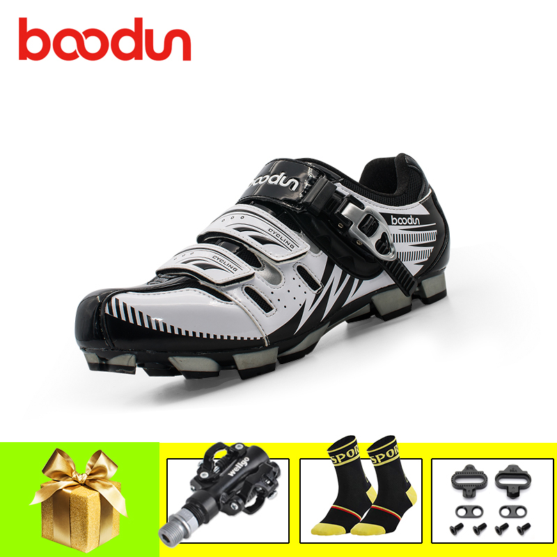 BOODUN Cycling Shoes Professional Men Breathable zapatillas ciclismo mtb Bicycle Self-Locking Athletic Riding SPD Pedals ShoesBOODUN Cycling Shoes Professional Men Breathable zapatillas ciclismo mtb Bicycle Self-Locking Athletic Riding SPD Pedals Shoes