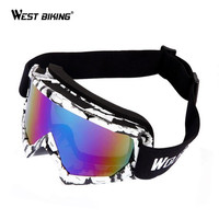 Windproof Ski Snow Glasses UV400 Protection Mask Glasses Snowboard Goggles Antiparra Snowboard Motorcycle Sunglasses