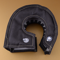 beler Car Turbo Carbon Fiber Blanket Heat Shield Cover Barrier Fit for T4 GT45 GT40 GT47 2000 Degree Temp Rating