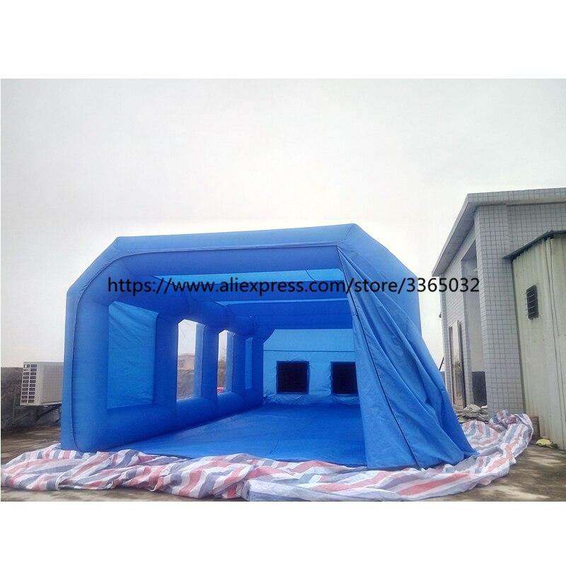 spray booth 14