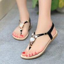 Femmes Strass Hibou Doux Sandales Clip Orteil Sandales de Plage Chaussures Meilleur Cadeau Apr19