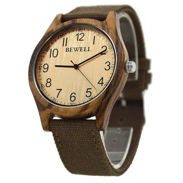 f522d1fca08 placeholder BEWELL 2017 Relógio de madeira em bambu relógio masculino  feminino relogios masculinos de luxo marcas famosas