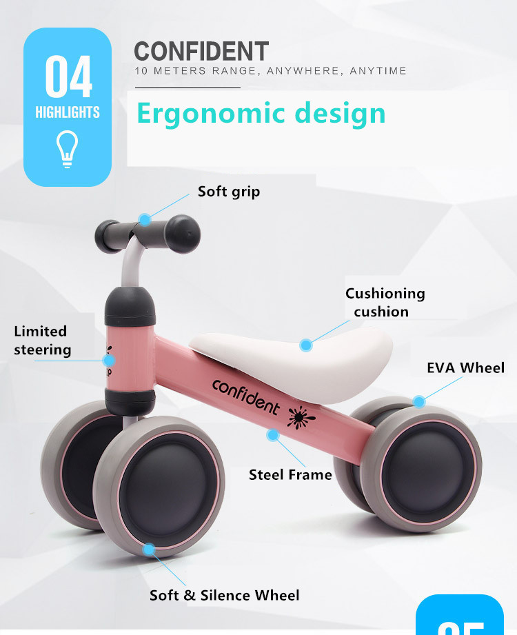 HTB1JC nqbsTMeJjSsziq6AdwXXaK New brand children's bicycle balance scooter walker infant 1-3years Tricycle for driving bike gift for newborn Baby buggy