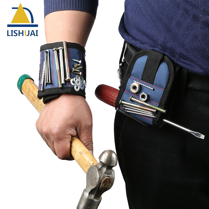 Più forte Magnetica Wristband per Lo Svolgimento di Viti, chiodi, Punte da trapano Migliore Magneteic Strumento Per La Meccanica