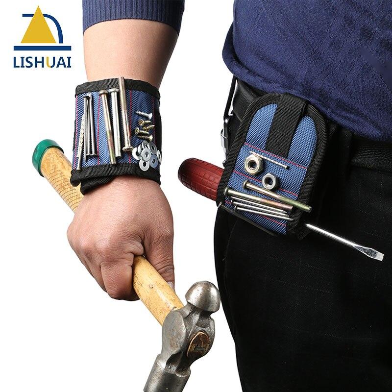Plus forte Magnétique Bracelet pour Vis de Fixation, ongles, Forets Meilleur Magneteic Outil Pour La Mécanique