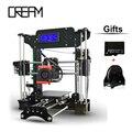 Tronxy 3d-принтер diy Большой Размер Печати 120*140*130 мм Точность Reprap Prusa i3 3D Принтер DIY Kit С Бесплатным нити