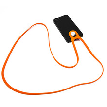 Universal Lanyard For Phone Silica Gel Sports Strap Mobile Durable Neck Hanging Rope Sling Chain